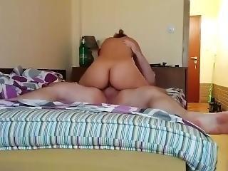 Real Hidden Cam Amateur Horny Girl Sucks & Fucks