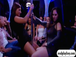 Horny Swingers Swap Partners And Orgy In The Red Room