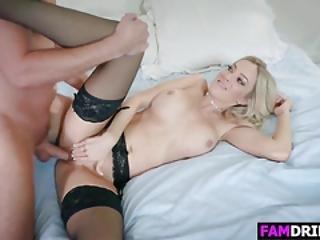 Blonde Stepma Blake Morgan Gets Slammed