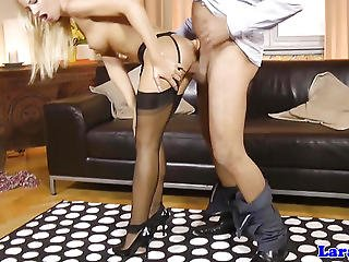Blonde, Blowjob, British, Clit, Dick, Ffm, Garter, Heels, Lingerie, Mature, Pierced, Pov, Stocking, Sucking, Teen, Threesome