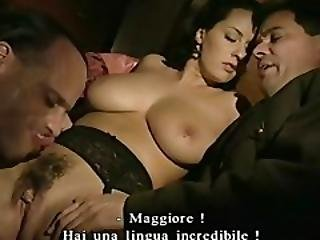 Two American Soldiers Fucks Enemy%27s Gorgeous Busty Italian Daughter Monica%21