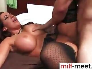 Date Her At Milf-meet.com - Horny Guy Goes Balls Deep