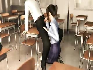 3d Sex In A Classroom
