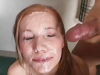 Bukkake, Cumshot, Facial