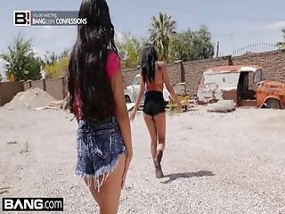 Bang Confessions   Gina Valentina Gets Used At The Junkyard