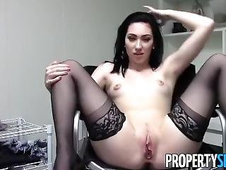 Girl Masterbating Her Hot Red Pussy