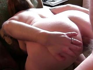 Mom N Dad Make An Anal Porno With Creampie Finish