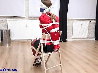 Tight Chairtied Escape Struggle-gagged