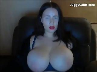 Goth Girl Huge Tits On Cam