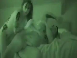 Hot Mmf Straight Threesome