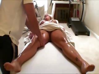 Pornstar Gets A Sensual Rub Down