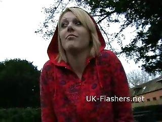 Flashing Blonde Shay Hendrix In Public Nudity And Upskirt Amateur Footage