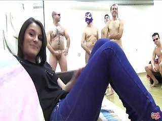 Puta Locura Teen Gangbang