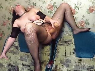 She Climb Higher And Fucks Her The Pussy A Big Toy