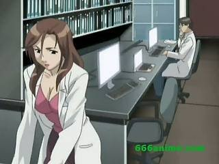 Hot horny animated girl