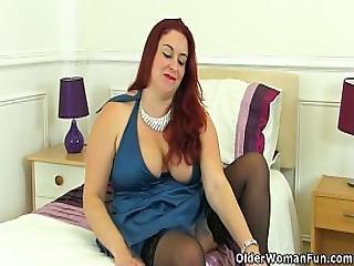 Uk Milf Sexy Scorpio Will Arouse You With Her Luscious Body