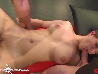 Innocent Amateur Girl Tries Her Firs Bukkake Gangbang - Extreme Bukkake