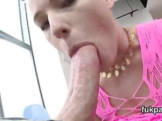 Gorgeous Model Shows Massive Ass And Gets Ass Hole Penetrated