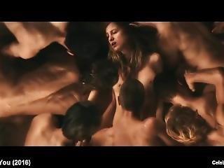 bikini, blonde, beroemdheid, naakt, ruw, sex