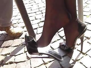 Lady Pantera - Latex, Leather, Corset & High Heels - 433