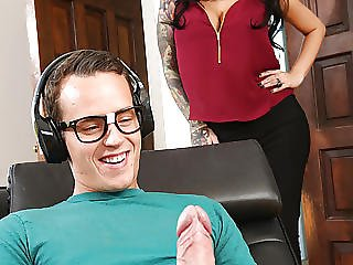 Filf Stepmom Lily Lane Catches Son Jerking On Her Photos