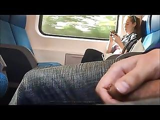 Wanking Next To Young Girl In Train