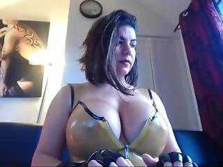 Transparent Latex Outfit_1 Omnibod Masturbation Orgasm