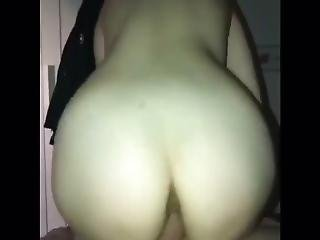 Tight Asian Girlfriend Bounces Her Round Ass Pov