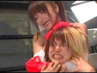 Japanese Female Wrestling Ryona