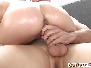 Lovely Skinny Teen Gets Her Pussy Banged Hardcore