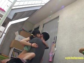 Petite Jav Schoolgirl Inamura Fucked On Roof Top By Hunter Perfect Teen