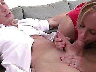Lush Blonde Has Big Tits
