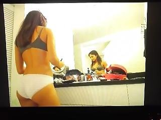 Mega  Hot Mfc Camgirl Teases In White Cotton Panties