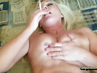 pipe, couple, hardcore, milf, modèle, pov, sexe, fumeur