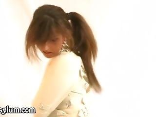 White Canvas Collar Straitjacket Girl