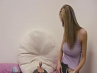 This Naturally Busty Blonde Amateur Has Never Used A Sybian Before But That Is About To Change! She Cums Multiple Times In A Matter Of Minutes!