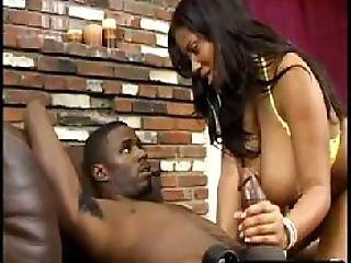 Ebony, Ghetto, Handjob