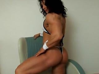 Alina Popa Sexy Fbb Posing