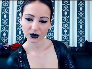 Goth Girl Smoking