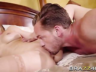 Slutty Blonde Stepmom Cherie Deville Gets Her Pussy Banged By Horny Stud