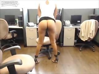 arab, kotě, velké dudy, snědé, nadržené, jihoameričanka, masturbace, kancelář, solo, webkamera