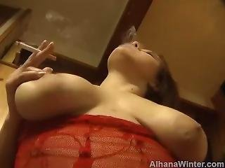 Pov Smoking Riding Fuck Cork Colored Cigarette Filter - Alhana Winter