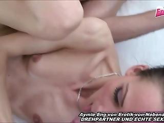 German Very Skinny Amateur Teen Homemade Threesome Mmf