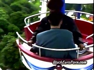Black Hottie Pumped By A Gifted White Stranger In Amusement Park1