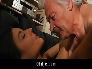 Grandpa Fucking Horny Young Sweety