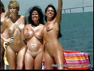 Amadores, Arte, Avózinha, Sexo Em Grupo, Madura, Orgia, Sexo, Swingers, Iate