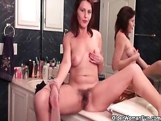 The More Pubes Mom Has The More Pussy Smell You Get