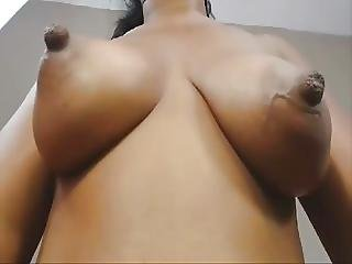 Real Natural Black And Ebony Colombian Tits