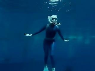 Scuba Wetsuit Girl