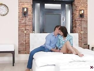 Beautiful Babe Rebecca Rainbow Sensual Romantic Sex With Boyfriend